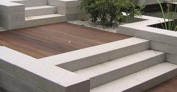 Granitpflaster Granit Blockstufen Quadersteine Leistensteine